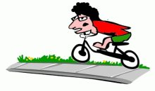 Cycling on pavements illegal – Nov 2018