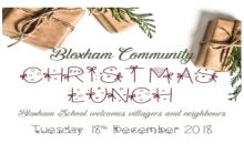 Community Xmas Lunch – 18th Dec 2018