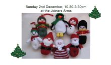 Knit & Natter Xmas Sale – 2nd Dec 2018