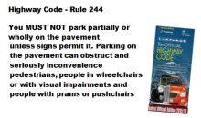 Parking on pavements – Dec 2018