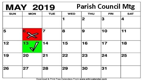 Next Parish Council Mtg Date – 13th May 2019 – Bloxham Broadsheet online